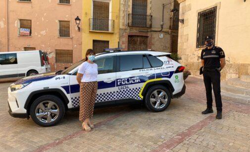 La Policía Local de Biar estrena un vehículo híbrido