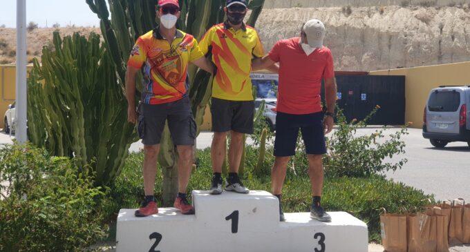Los villeneros, Vicente y Daniel Esquembre, campeones provinciales de IPSC