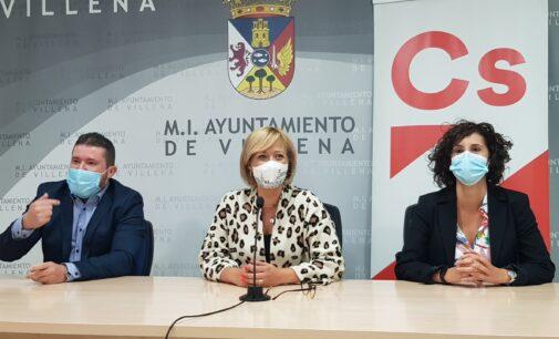 Ciudadanos reivindica en Madrid el acceso a la estación AVE