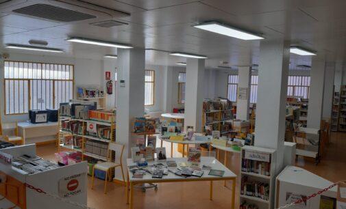 La Biblioteca La Paz renueva su climatización