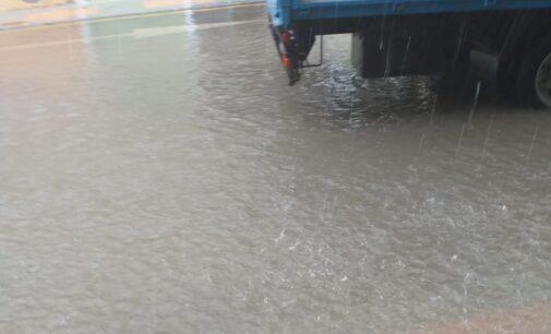 Los vecinos de la Paz denuncian inundaciones en la renovada calle Celada
