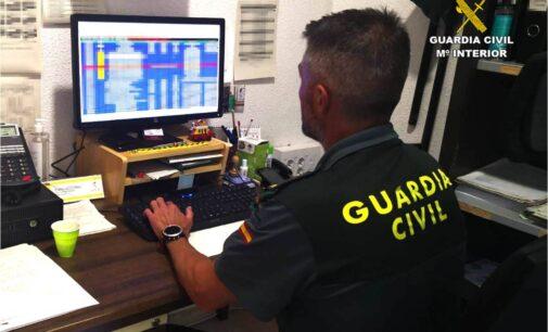 La Guardia Civil desarticula una banda criminal que había estafado más de 80.000 euros a sus víctimas
