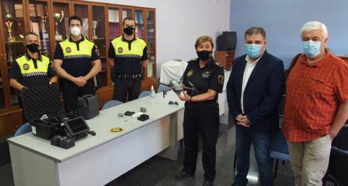 La Policía Local adquiere un  dron para reforzar el Plan de Seguridad Ciudadana