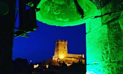 La torre de la iglesia de Santa María se iluminará de verde por San Patricio