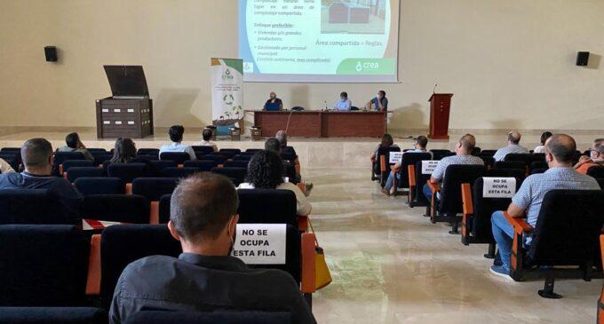 El consorcio CREA presenta un proyecto de compostaje comunitario