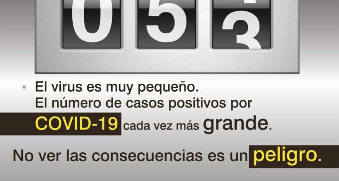 Villena pone en marcha una nueva campaña de concienciación ante el aumento de positivos por Covid-19