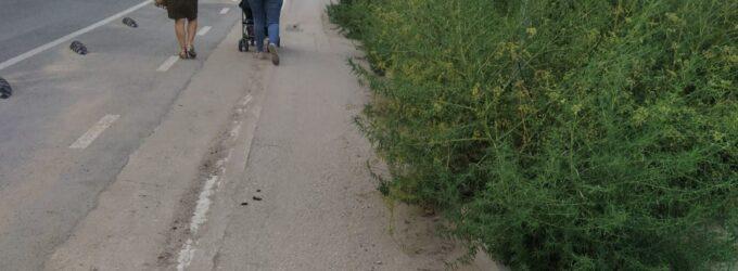 Ciudadanos Villena pide a Los Verdes que mantengan la ciudad para que sea accesible