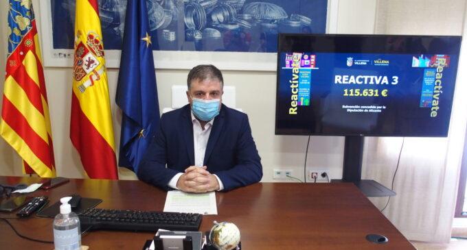 Villena abre el plan de ayudas para empresas de más de 10 trabajadores