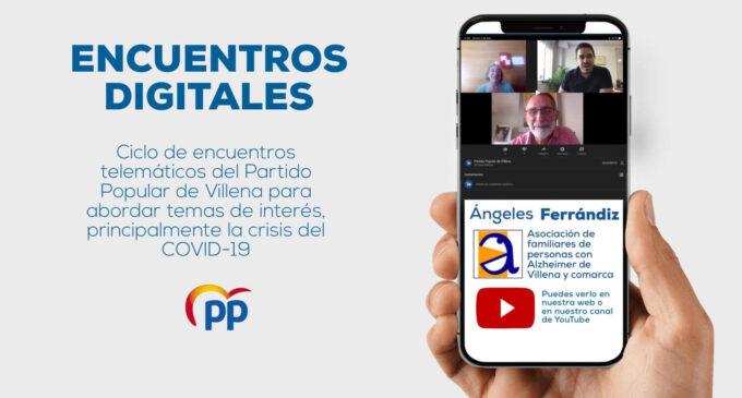 Encuentro Digital con Ángeles Ferrándiz, de la asociación de familiares de personas con Alzheimer de Villena y comarca
