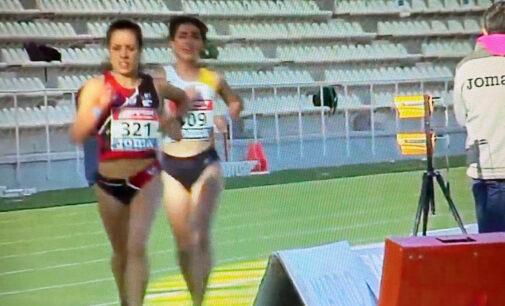 Laura Domene queda cuarta en los 5000 metros lisos en el campeonato de España