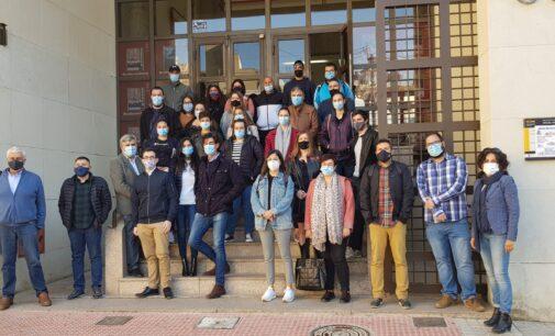 23 jóvenes de un plan de empleo acaban su labor en el Ayuntamiento