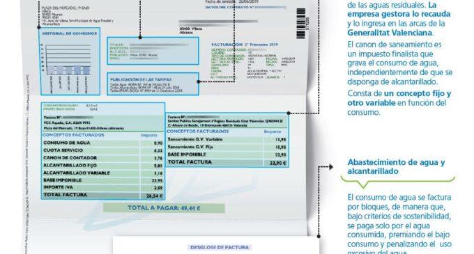 Aqualia reinicia el cobro del canon de saneamiento de la Generalitat aplazado durante el estado de alarma