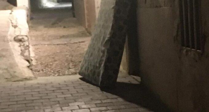 Ciudadanos denuncia el abandono de los accesos al Castillo de la Atalaya