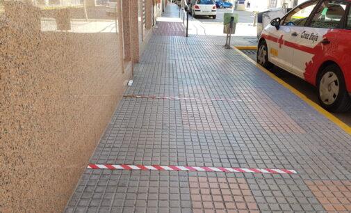 La Concejalía de Sanidad solicita señalizar en el suelo de las terrazas la distancia social