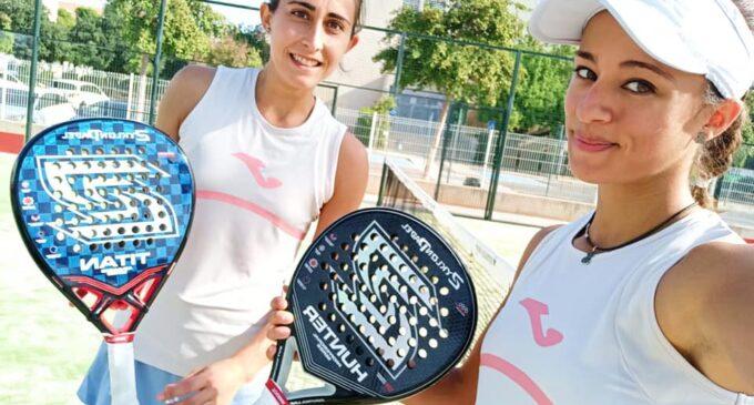 La villenense Jessica Castelló, campeona autonómica de pádel
