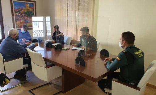 Guardia Civil y Policía Local coordinan acciones para el cumplimiento de las medidas del Estado de Alarma en Villena