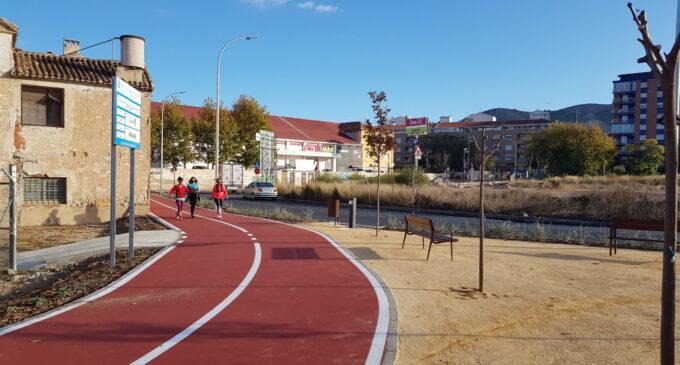 Villena estrena tramo peatonal