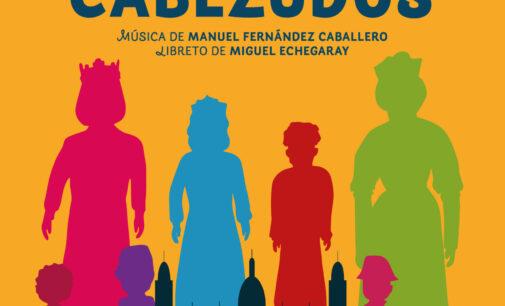 """La zarzuela """"Gigantes y Cabezudos"""" en el Teatro Chapí de Villena"""
