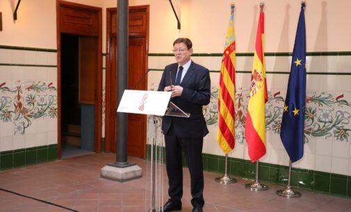 Ximo Puig estudia prorrogar el confinamiento perimetral hasta el 9 de diciembre