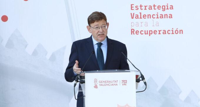 Puig anuncia que 200.000 personas podrán estar vacunadas en la Comunitat contra la COVID-19 en el primer trimestre de 2021