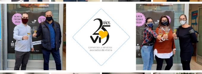 Comercios y Servicios Vi celebra sus 25 años de historia con un brindis virtual