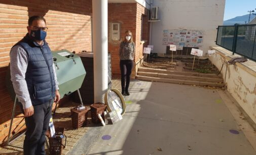 El proyecto «CreaCompost» llega a Campo de Mirra