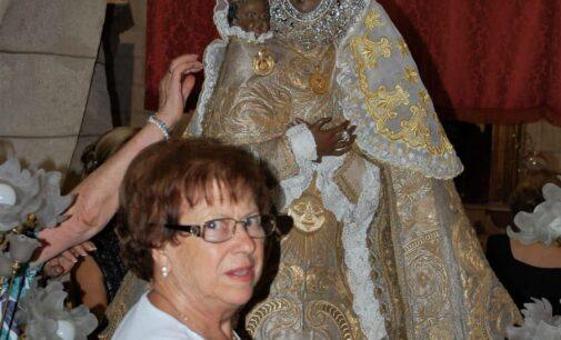 Encarna Palazón Mateo, camarista de La Virgen