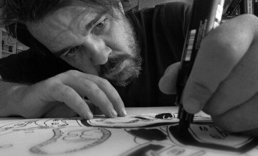El villenense Fran Ferriz lanza la segunda edición de «Ilustraciones Pandémicas»