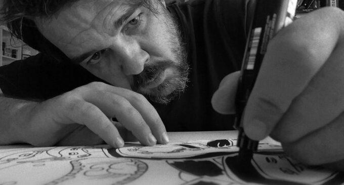 """El villenense Fran Ferriz lanza la segunda edición de """"Ilustraciones Pandémicas"""""""
