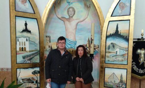 Puri Ferrándiz, presidenta de la Hermandad del Santo Sepulcro y Cristo de la Caída