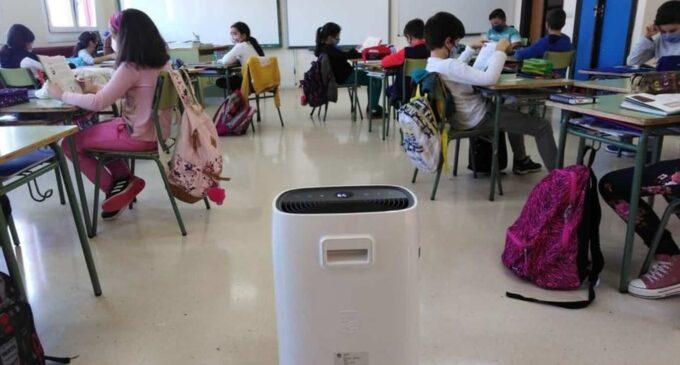 Acuerdan la compra de nuevos equipos de filtros de aire y medidores de CO²  para los colegios