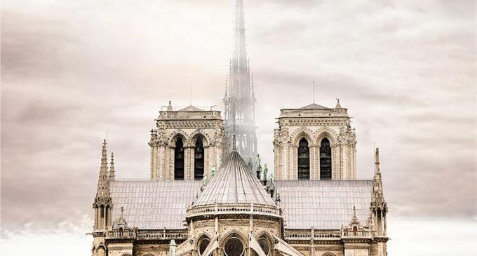 Sergio Ortín opta a varios premios por su proyecto de reconstrucción de Notre-Dame