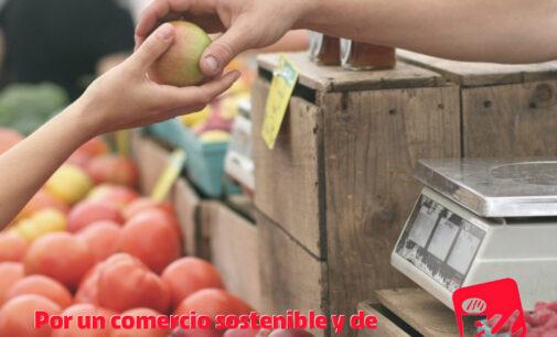 IU por un comercio sostenible y de proximidad