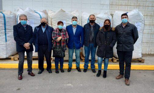 Villena se supera con la recogida de 5.000 kilos de tapones solidarios