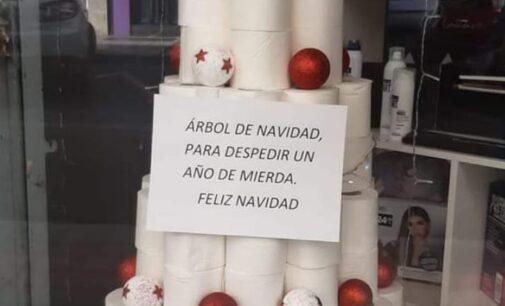 Feliz papel, feliz Navidad