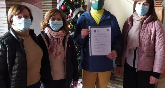 Biar firma un convenio con APADIS de cerca de 1700 euros