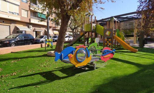 Biar renueva la zona de juegos de la Plaza del Convento