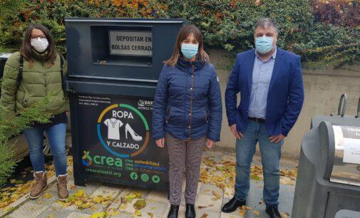 Biar estrena contenedores de recogida selectiva de residuos