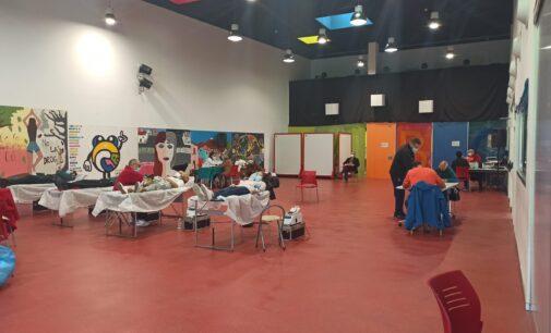 Éxito de la campaña de donación de sangre de la comparsa de Piratas