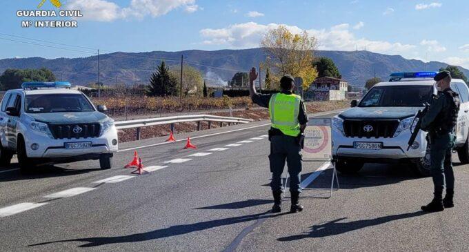 171 conductores pasan a disposición judicial en la Comunidad Valenciana, en noviembre, por delitos contra la seguridad vial