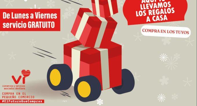 Comercios y Servicios Vi reparte los regalos de forma gratuita en Navidad
