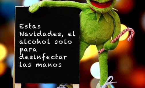 La campaña 'Navidad y Salud' de la UPCCA alerta del consumo masivo de alcohol durante las fiestas
