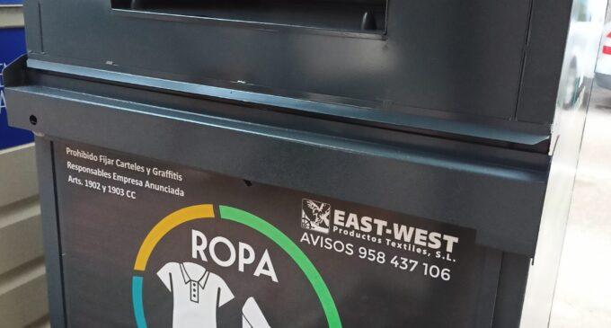 La gestión de los contenedores textiles por el Grupo Martes no es viable, según el Consistorio