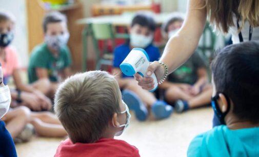 Alrededor de 1.000 aulas están confinadas en la Comunidad Valenciana