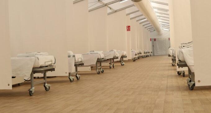 La Conselleria de Sanidad acondiciona 280 camas en los hospitales de campaña