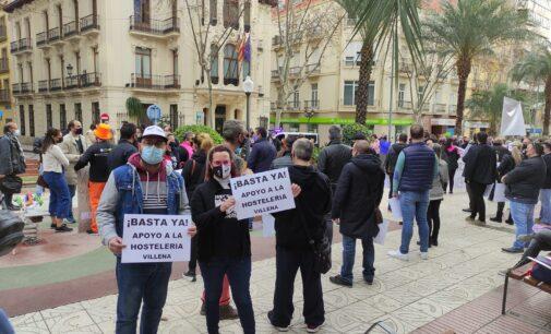 Hosteleros de Villena se manifestarán por la extrema gravedad económica del sector