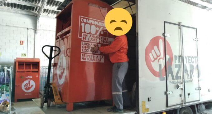 SOS Grupo Martes, su supervivencia depende de los contenedores de ropa