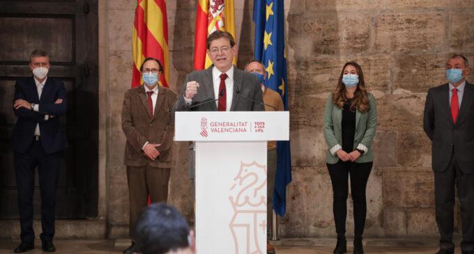 Puig presenta el 'Plan Resiste' dotado con 340 millones para la reactivación  de los sectores más afectados por la COVID-19