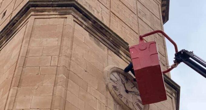 Biar digitalizará el reloj de la torre del campanario de la iglesia de la Asunción