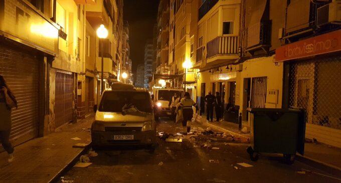 Altercado en la calle Juan Chaumel de Villena